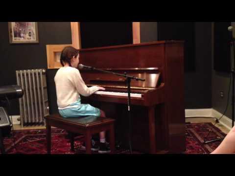 Hannah at Mark Murphy Music Studio  5-22-16