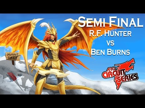 ARGCS Charlotte Semi Finals R.F. Hunter vs Ben Burns