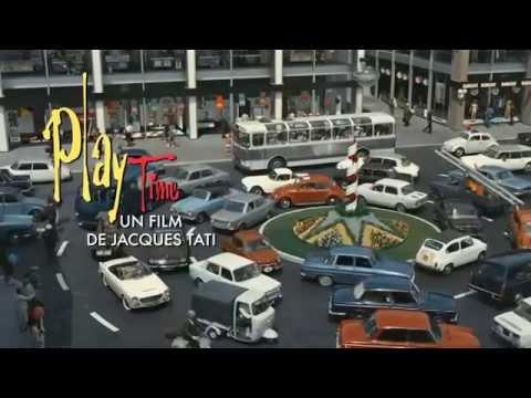 Playtime de Jacques Tati en version restaurée 4k