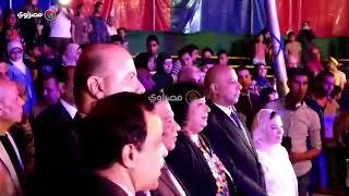 وزيرة الثقافة تفتتح سيرك مايو بحضور نجوم الفنون الشعبية