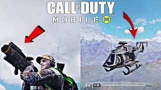 Helicopter in Call of Duty Mobile | COD Mobile: Battle Royale Mode Gameplay