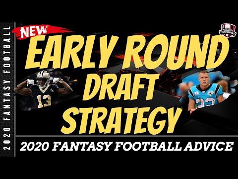 2020 Fantasy Football Draft Strategy - Early Round Draft Strategy - Fantasy Football Tips And Tricks