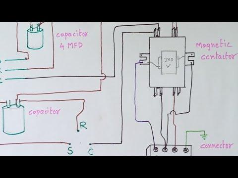 ac outdoor unit magnetic contactor diagram