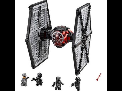 mon vaisseau tie fighter et mon vaisseau de transport invent lego star wars