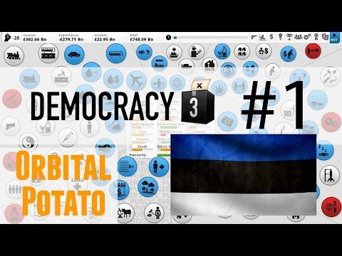Democracy 3 - All DLC - Part 1 - Estonia - Uh-Oh!
