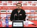 Conferenza stampa post partita Legnano - Ferrara del 17/01/2016