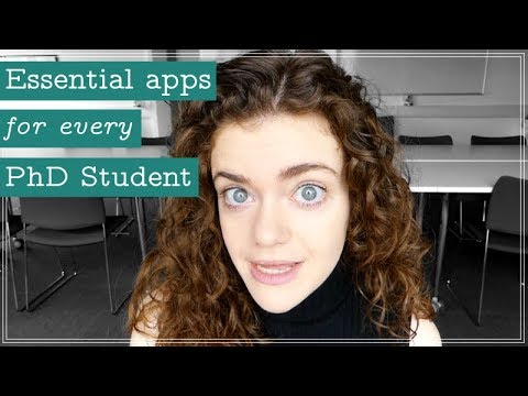 5 Essential Apps for Every PhD Student