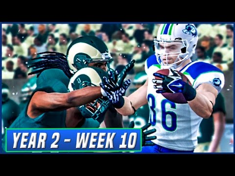 NCAA Football 14 Dynasty Year 2 - Week 10 @ Colorado State | Ep.28