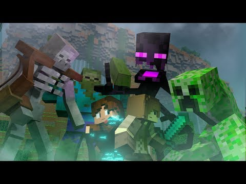Survival Games Movie: The Mutant Assault! (Minecraft Animation)