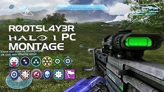 Halo 1 PC Gameplay - RØØTSL4Y3R