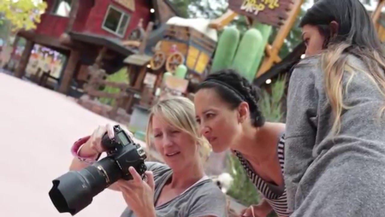 Behind the Scenes: Photoshoot