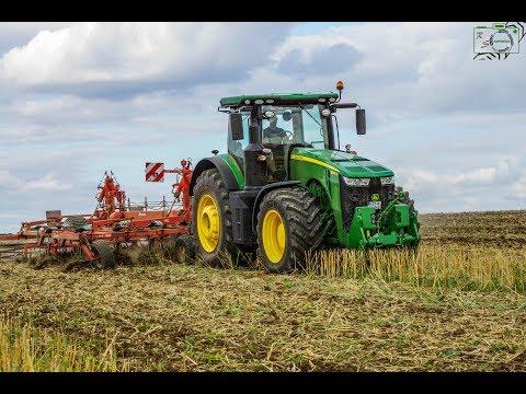 Bodenbearbeitung/ John Deere 8345R/ Kverneland GFG 600 Grubber