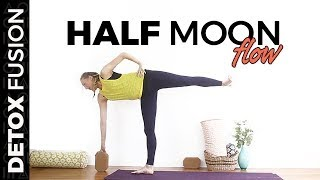Day 16: Half Hour Half Moon Sequence | Yoga Balancing Poses (30-Min)