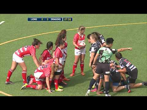 Ladies Under 16 Lions  vs Dragons – 15 a side