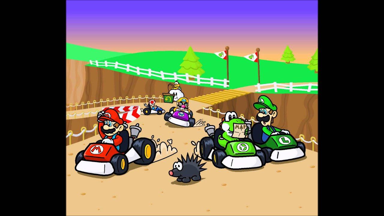 Fall Farm Wallpaper Mario Kart 64 Moo Moo Farm Yoshi Valley 16 Bit Smk