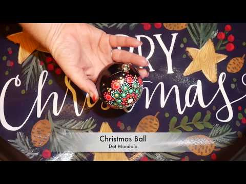Thumbnail: How to paint dot mandalas #31- Christmas Ball