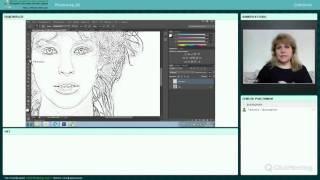 2016 4 19 Adobe Photoshop Как сделать рисунок карандашом из фото