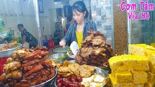"""""""Xếp hàng"""" mua Cơm Tấm Mai Đoàn Văn Bơ 45 năm ở Sài Gòn"""