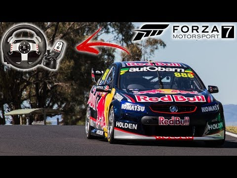 FORZA MOTORSPORT 7 GAMEPLAY (PC) - V8 SUPERCARS EM MOUNT PANORAMA