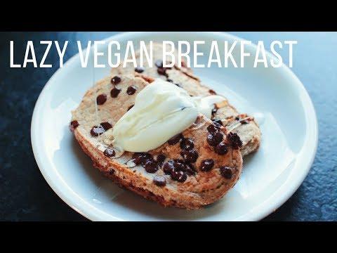 Lazy Vegan Breakfast Ideas!  {healthy + easy}