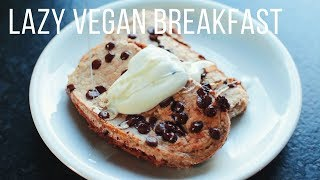 Lazy Vegan Breakfast Ideas!  {healthy + easy}