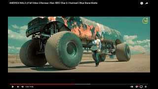 Download AMERICA WALA    Full Video    Ravraaz   Ravi RBS   Shar.S   Harmeet   Blue Stone Media