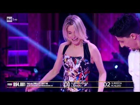 Il Jive di Steia Rocca e Marcello Nuzio  Spareggio finale  Ballando con le Stelle 24032018