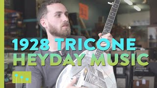Episode 8: 1928 Tricone At Heyday Music In Asheville Nc