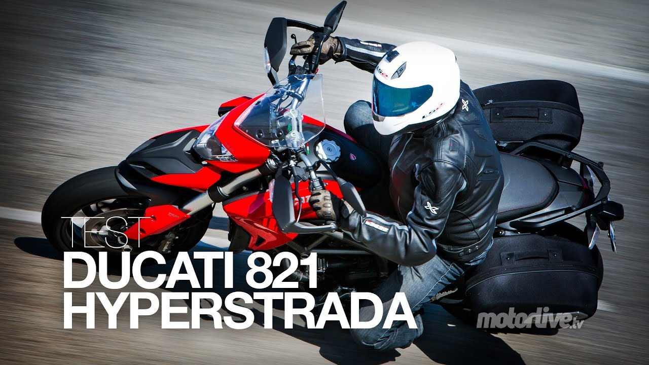 test | ducati hyperstrada 821 - youtube