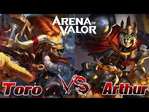 Toro VS Arthur! Ihr habt es so gewollt! xD AoV - 1v1 | Arena of Valor Deutsch German Gameplay