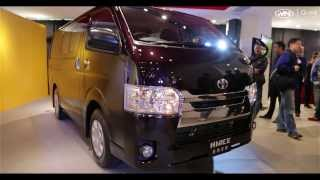 Toyota 2014 Hiace Launch Ceremony in Hong Kong