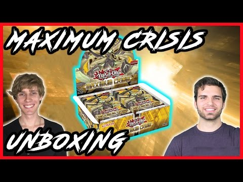 *NEW* Best YuGiOh Maximum Crisis Unboxing | Rare Hunters ft. SimplyUnlucky