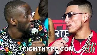 TERENCE CRAWFORD TRADES SAVAGE INSULTS WITH JOSE BENAVIDEZ AT TENSE FINAL PRESS CONFERENCE