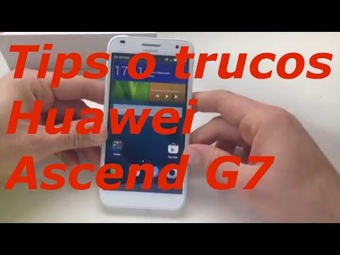Tips o trucos Huawei Ascend G7 1