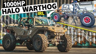homepage tile video photo for WE BUILT A REAL HALO WARTHOG WITH 1,000HP!