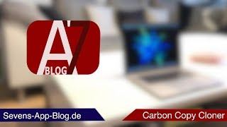 Datensicherung / Backup auf dem Mac, mit Carbon Copy Cloner - Sevens App Blog