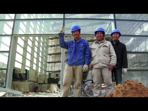 Italcementi's innovative products at the Expo 2010 in Shanghai China