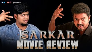 Sarkar Movie Review by Vj Abishek | Vijay | A R Murugadoss | Keerthi Suresh | Open Pannaa