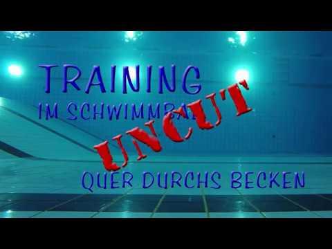 Training im schwimmbad quer durchs becken uncut youtube for Schwimmbad becken