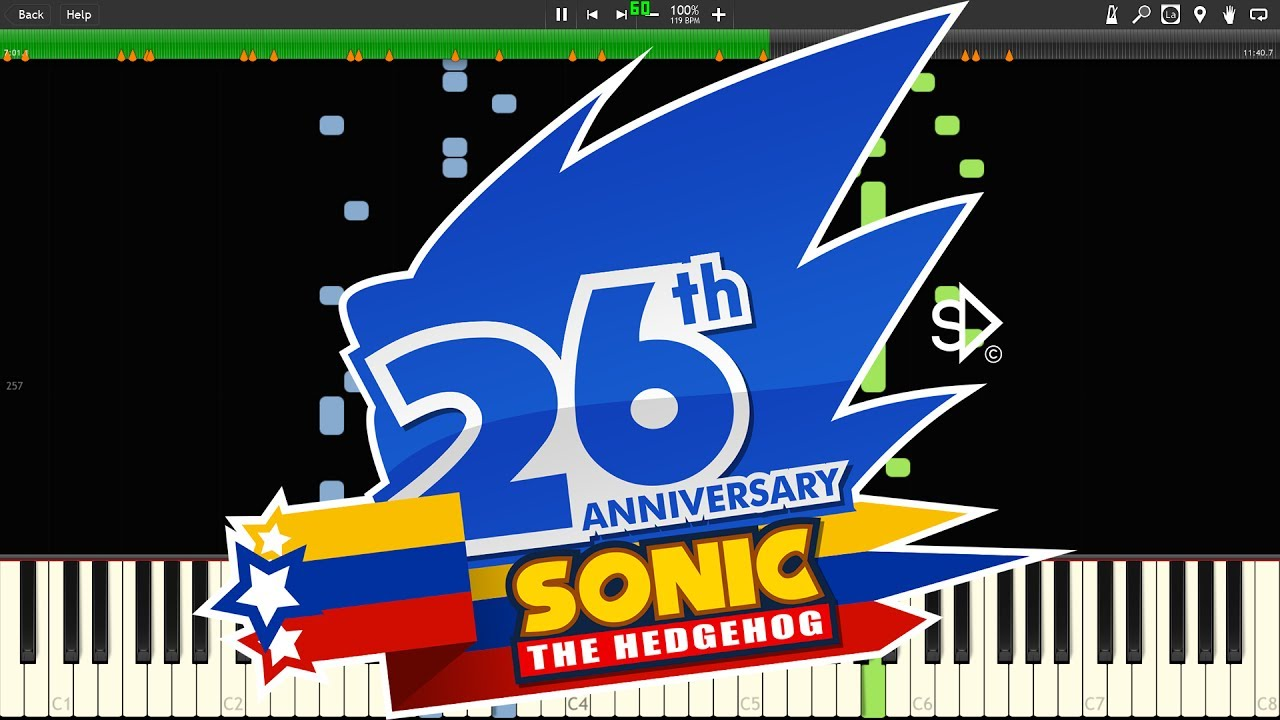 26th Wedding Anniversary Gift: [26th Anniversary Of Sonic The Hedgehog] Sonic The