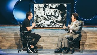 Mitch Albom interviewed by Steve Carter at Willow Creek Community Church