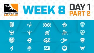 Overwatch League 2020 Season | Week 8 Day 1 | Part 2