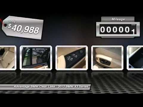 2013 BMW X3 Series at Advantage BMW Clear Lake D0A15122
