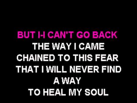 Evanescence - My Heart Is Broken karaoke
