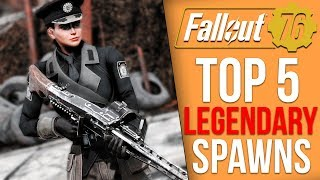 Fallout 76 - Top 5 Legendary Item Spawn Locations