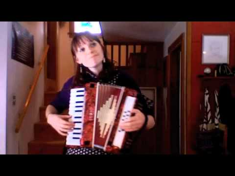 Bob Dylan--Blowin' in the Wind (accordion)