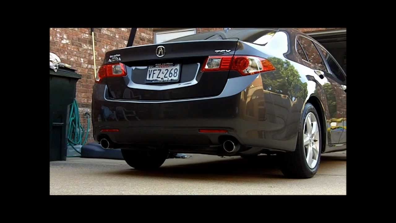 Acura TSX 2009 Rear Bumper Removal & Replacement - YouTube