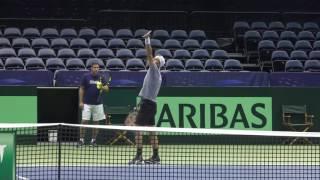 2017 Davis Cup by BNP Paribas: USA vs Switzerland Draw