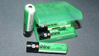 Ni-Mh аккумуляторы Soshine AAA 1100 мАч: тест, обзор, отзыв - купить на АлиЭеспресс