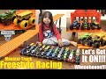 Children's TOY Cars and Toy Trucks. Hot Wheels MONSTER JAM Trucks RACING! Toy Car Freestyle Race